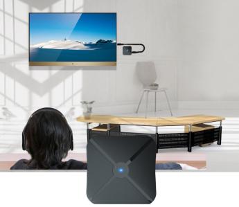 аксессуары для акустики: Bluetooth аудио адаптер Hurex  Home SP-12