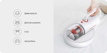 Пылесосы автомобильные: Xiaomi Deerma Wireless Vacuum Cleaner  White CM1900