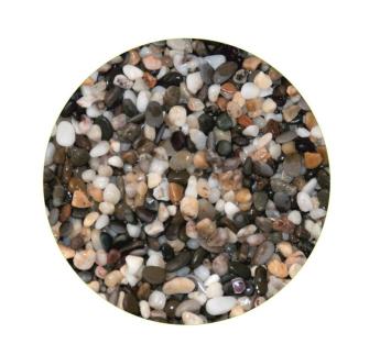 Грунты для аквариумов и террариумов: галька Эко грунт Феодосия №0 2-5mm 3.5kg  г-0021