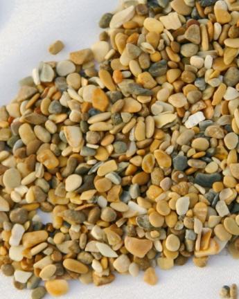 Грунты для аквариумов и террариумов: галька Эко грунт Каспий №1 2-4mm 3.5kg  г-0069