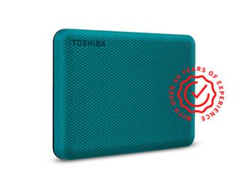 Внешние жесткие диски HDD: Toshiba Canvio Advance 4Tb Green  HDTCA40EG3CA