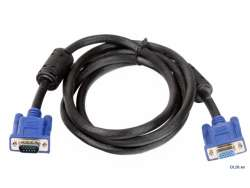 cable vga vcom vvg6448 hd15m-m+2core 1m8