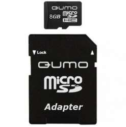 flash microsdhc 8g class10 qumo