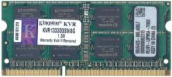 nbram ddr3 8g 1333 kingston kvr1333d3s9-8g
