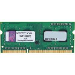 nbram ddr3 2g 1600 kingston kvr16ls11s6-2