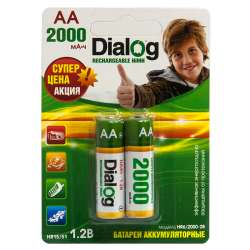 other battery ni-mh dialog hr6-2000-2b aa