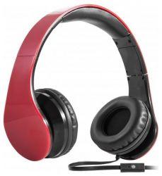 headphone defender hn-047 red+microphone