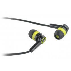 headphone defender pulse-420 yellow+microphone