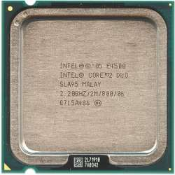 discount cpu s-775 core2duo-e4500 oem used