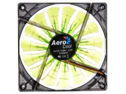 cooler aerocool sharkfan 14cm evil green