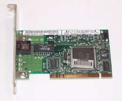 discount lan card compaq nc3121 used