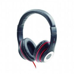 headphone gembird mhs-lax-b black+microphone