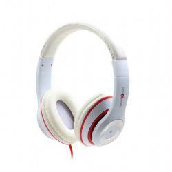 headphone gembird mhs-lax-w white+microphone