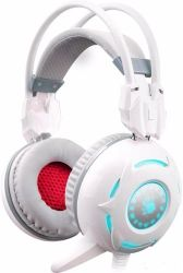 headphone a4 bloody g300 white+microphone