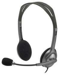 headphone logitech stereo headset h111 981-000593