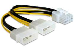 cable vga power cc-psu-81 8pin-2molex