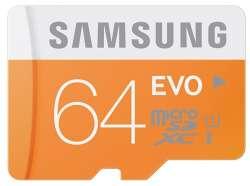 flash microsdxc 64g class10 uhs-1 samsung mb-mp64da-ru
