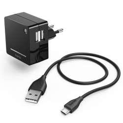 smartaccs charger hama opal 00124569 2a1 black