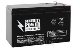 discount ups battery securitypower sp12-7 likenew