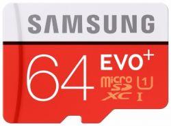flash microsdxc 64g class10 uhs-1 samsung mb-mc64da-ru