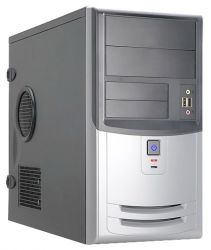discount case inwin emr018 rb-s450hq7-0 black-silver damaged