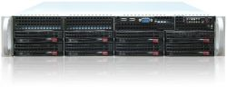 server supermicro 2u cse-825tq-r 2x 740w x10drl 2x 2011-v3 32gb