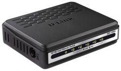 discount lan hub d-link des-1005a used