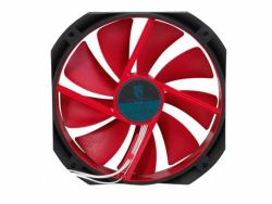 cooler deepcool gf140 red 140x26