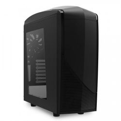 case nzxt ca-ph240-b7 black bez bloka