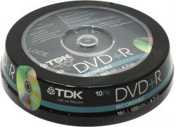 media dvd+r tdk 4g7 16x cake10