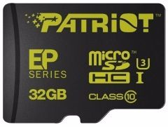 flash microsdhc 32g class10 uhs-1 patriot pef32gemcshc10