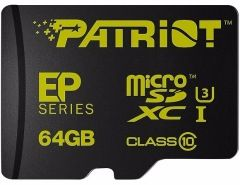 flash microsdxc 64g class10 uhs-1 patriot pef64gemcsxc10