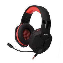 headphone sven ap-g988mv black-red+microphone