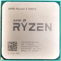 cpu s-am4 ryzen 5 1600x box