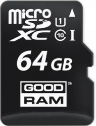 flash microsdxc 64g class10 uhs-1 goodram m1aa-0640r11