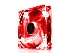 cooler raidmax red led fan 120mm
