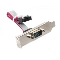 adapter planka com gembird cc-db9ml-01 1port