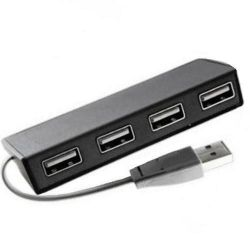 usb ritmix cr-2406 black 4port