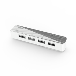 usb ritmix cr-2406 white 4port