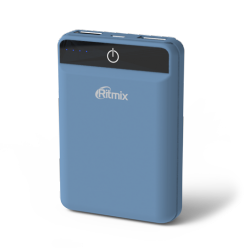smartaccs charger powerbank ritmix rpb-10003l smoky-blue