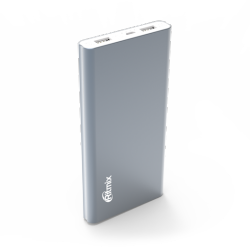 smartaccs charger powerbank ritmix rpb-12077p grey