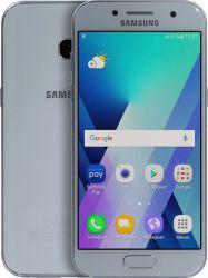 smartphone samsung galaxy a3 2017 blue sm-a320fzbdser