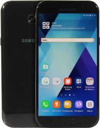 smartphone samsung galaxy a7 2017 black sm-a720fzkdser