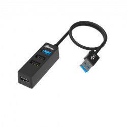 usb ritmix cr-3402 black 4port