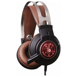 headphone a4 bloody g430 black-brown+microphone