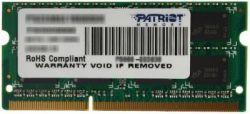 nbram ddr3 4g 1333 patriot psd34g133381s