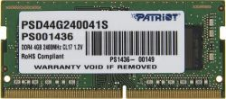 nbram ddr4 4g 2400 patriot psd44g240041s