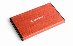 drivecase gembird ee2-u3s-3-r red