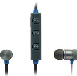 headphone defender b710 black-blue+microphone