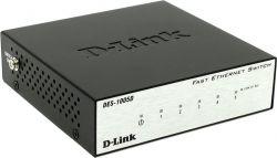 lan hub d-link des-1005d